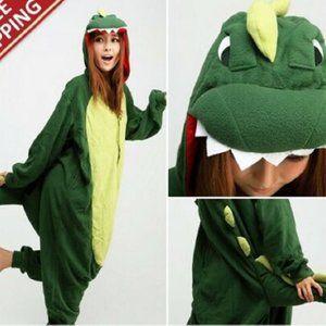 Pajamas Costumes Dinosaur One Piece adult Small